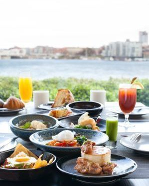 Small Plates Brunch with a view at Aura Restaurant