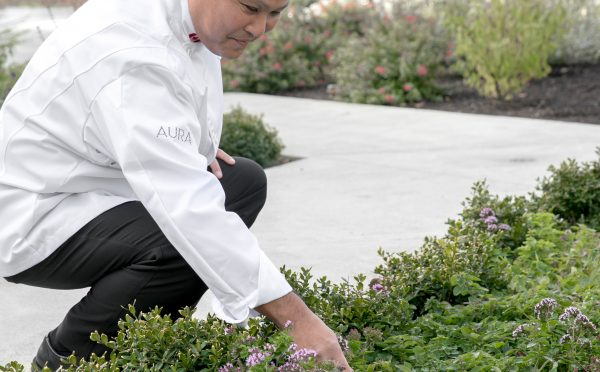 Executive Chef Ken Nakano Inn at Laurel Point Culinary Gardens